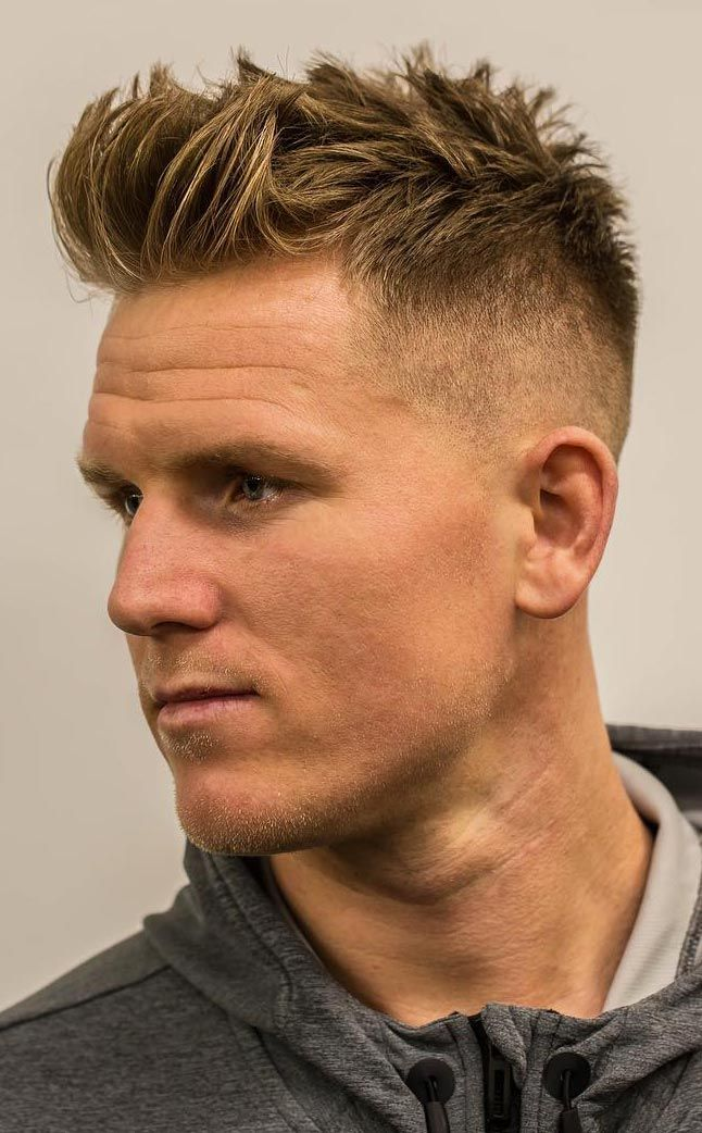 Faux Hawk Hairstyle Keep It Even More Exciting Faux Hawk Hairstyles Mens Hairstyles Short Mens Hairstyles Undercut