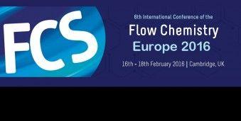 캠브리지 유럽 플로우케미스트리 컨퍼런스 FCS 2016 International Conference of the  Flow Chemistry Society