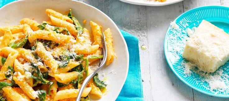 Tasty summer pasta with a twist.