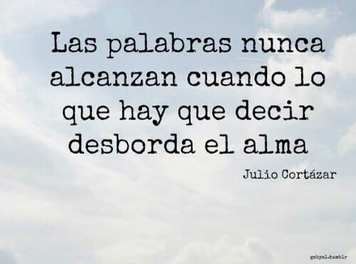 Agradecimiento Julio Cortazar Quotest Pinterest Words