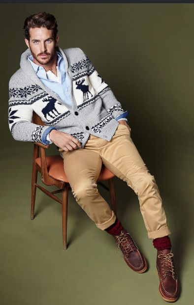 Winter Cardigan. Men's fashion and style