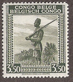 Postage stamps and a good mail delivery system was developed during Belgium colonialism in Congo