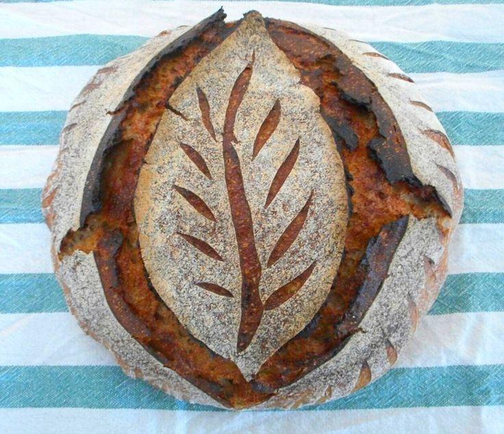 Image result for leaf sourdough bread