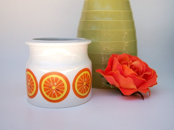 Vintage mid-century jam jar by Arabia of Finland