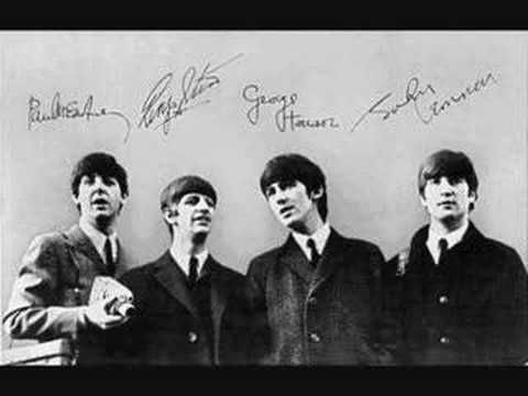 Beatles - She Loves You ~ Mom says I would dance and sing this in the car and around the house from day one of hearing it. Yeah Yeah Yeah!