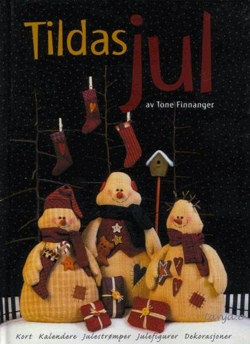 ESTRELARTEIRA: Revista Tilda com bonecos de neve