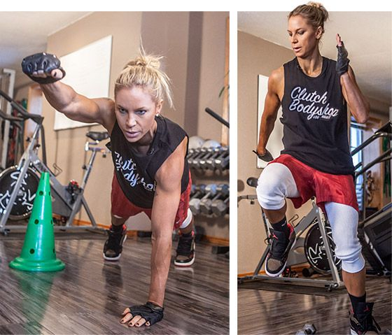 Celebrity Trainer, Ashley Conrad, shows how she gets celebs like Kate Hudson her amazing body at home in only 25 minutes.