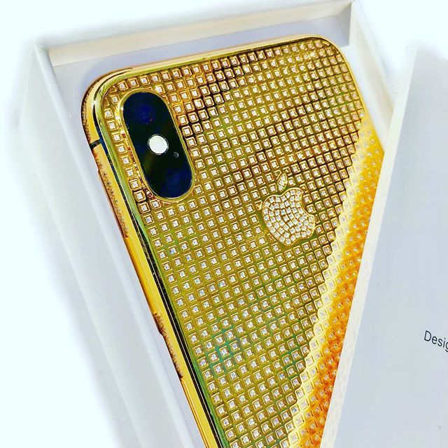 iPhone X 24K Gold Crystal   Limited Edition (With images)   Iphone. Crystals. Beautiful jewelry