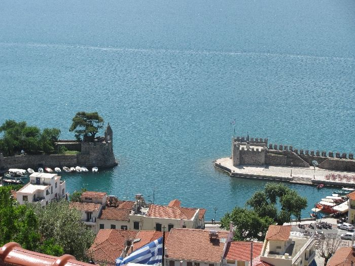 Old port of Nafpaktos