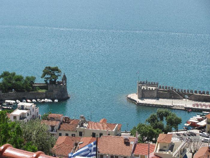 Old port of Nafpaktos
