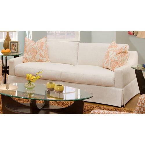 Chenille Skirted Sofa: Home Decor, Sofa, Home Furnishings