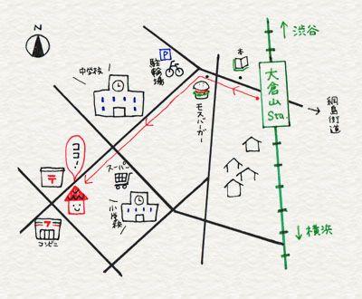 3-10. 地図はわかりやすくシンプルに | 4色ボールペンで!かわいいイラスト描けるかな