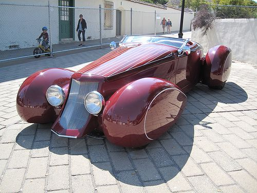 Now that's a roadster!