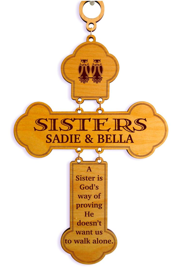 Valentines Day Gift to my Sister, Sisters  Cross Gift,Sister Birthday Gift ,Sister to Sister Gift, Brother to Sister Gift,Gift to my Sister. by GreatDecorativeCross on Etsy https://www.etsy.com/listing/246422009/valentines-day-gift-to-my-sister-sisters