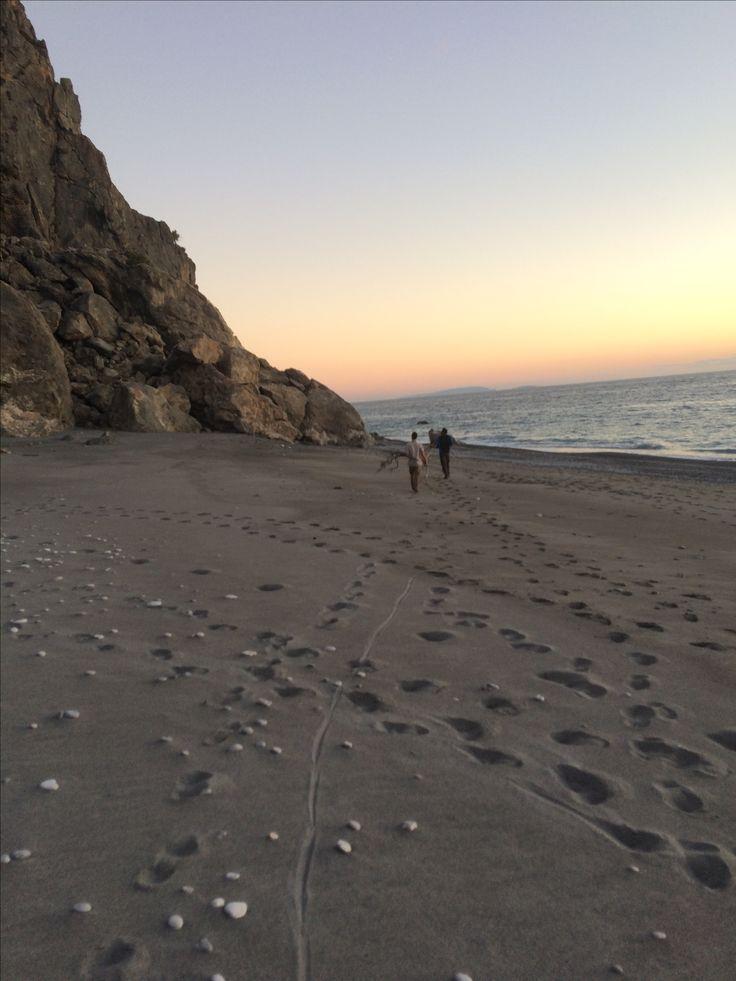 Domata beach, south Crete, Greece.