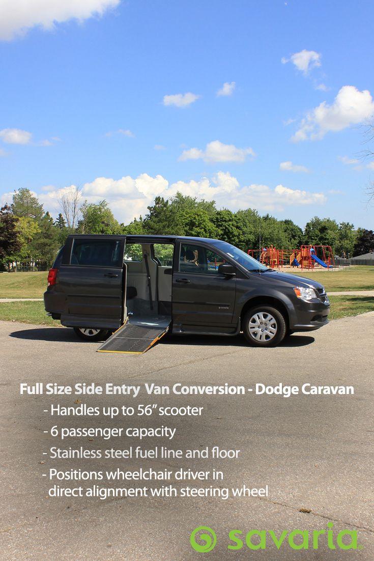 Full Size Side Entry Wheelchair Van Conversion - Dodge Caravan