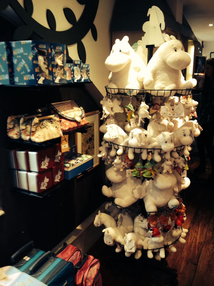 Moomin shop in Covent garden !