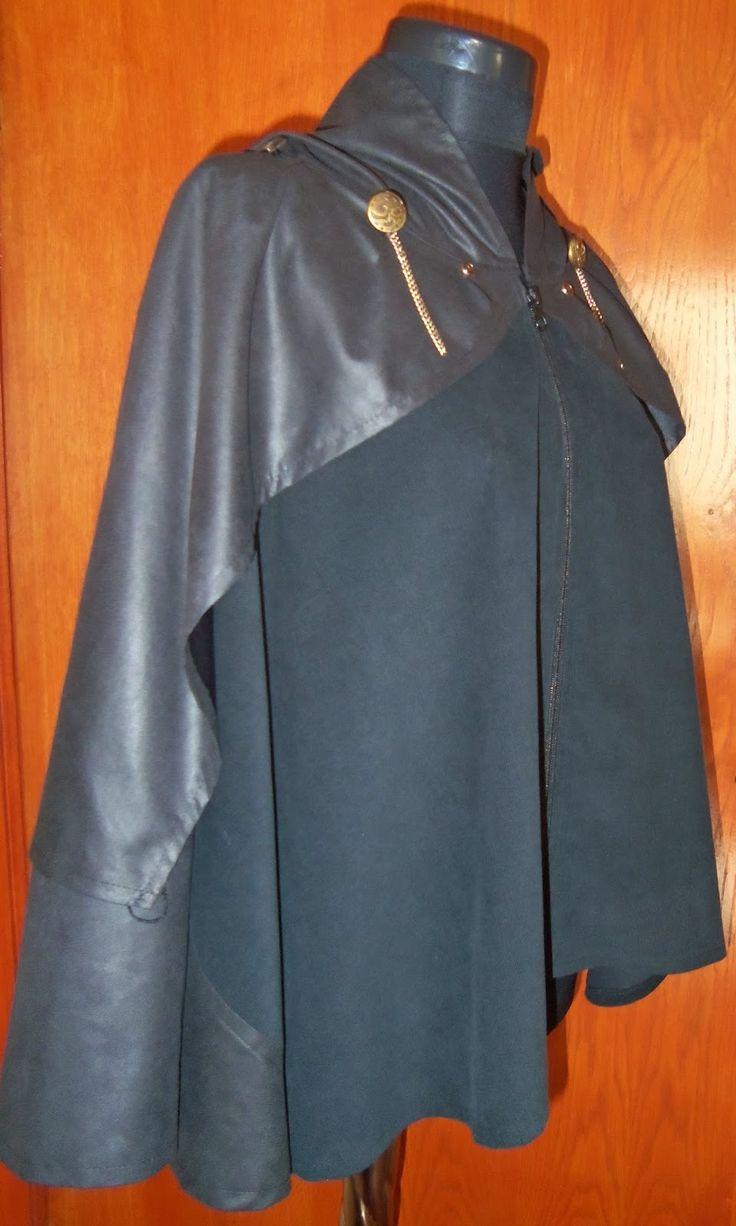 Ravendark Coven Designs: BATHANY WINGED CAPE