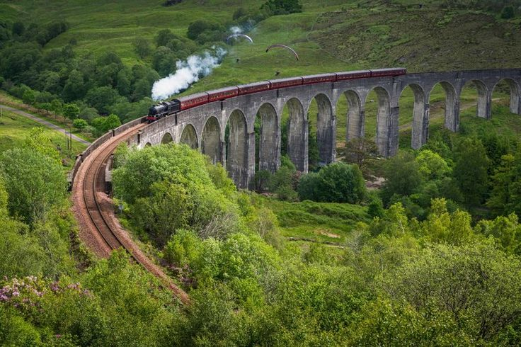 These train rides offer passengers views of some of the world's most stunning landscapes