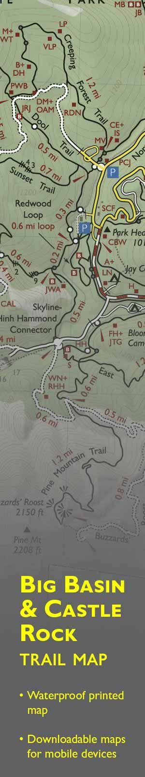 San Jose Monterey Map%0A Big Basin Redwoods State Park