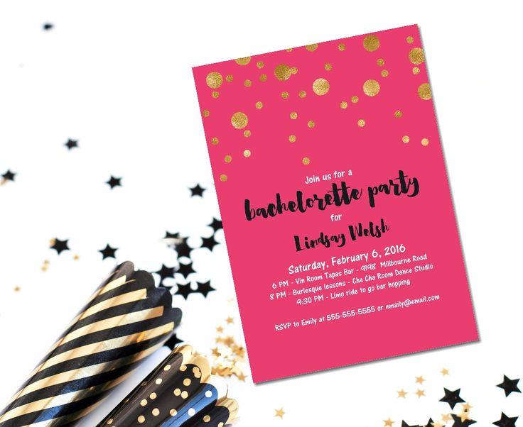 137 best images about bachelorette & hen party invitations & party, Party invitations