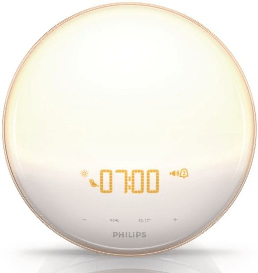 To start your morning right, you don't need an alarm that jolts you from your sleep. Switch to gradual wake up light alarm clock that mimics the colors of the sunrise.