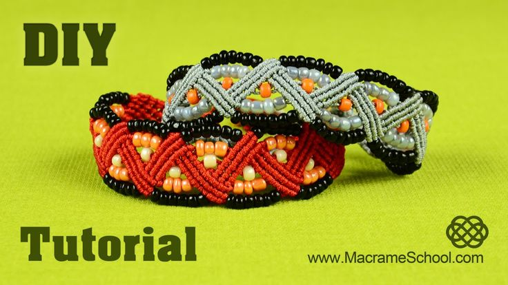 This is a tutorial on how to make a Macrame Zig Zag Bracelet with beads. You can change colors of your choice. Hope you will like it :) Please watch more bea...