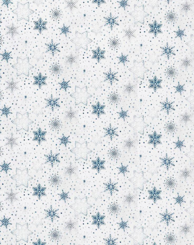 Flocon de neige blanc
