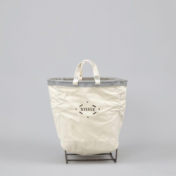 Steele Canvas Round Carry Basket - 1½ Bu (Image 1)