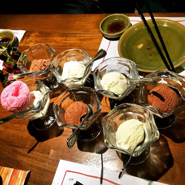 Ice Cream *all you can eat at Poke Sushi*