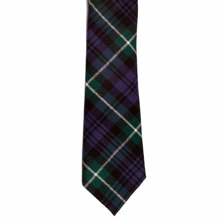 Lamont Tartan Tie from Gretna Green #TartanTie #PlaidTie