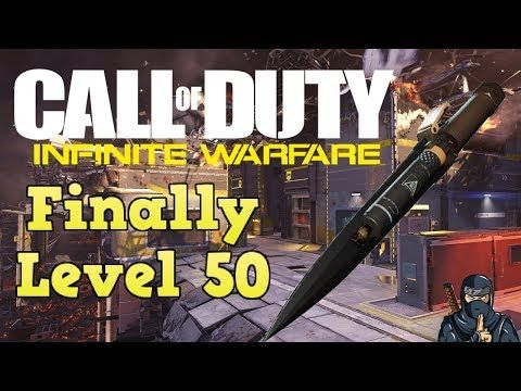 http://callofdutyforever.com/call-of-duty-gameplay/finally-level-50-in-cod-infinite-warfare-on-ps4-gameplay-bio-spike-clips-more/ - Finally Level 50 in CoD Infinite Warfare! (On PS4 gameplay, Bio spike clips & More)  I know that level 50 in CoD Infinite Warfare is not the max level but its when you unlock the bio spike! This was recorded on PS4. So for today video is me unlocking the bio spike doing a live commentary but the audio is bad, sorry about that, going to fixed nex