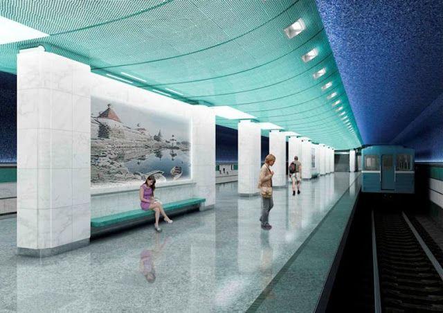 Транспортный блог Saroavto: Москва: Станция метро «Беломорская» встретит пасса...