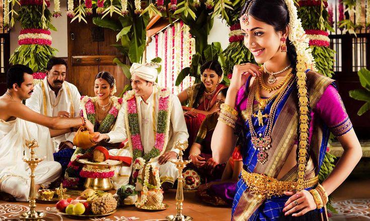 Love the saree colour combo :D