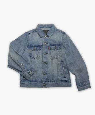 Levi's Sale | Order Now and get this at 41% OFF - Big Boys' (8-20) Trucker Jacket #Levi's #Sale #boys #DenimJacket