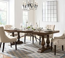 Lorraine Extending Dining Table Hewn Oak Dining Room Table