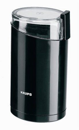 AmazonSmile: KRUPS F20342 Electric Spice and Coffee Grinder with Stainless Steel Blades, Black: Kitchen & Dining