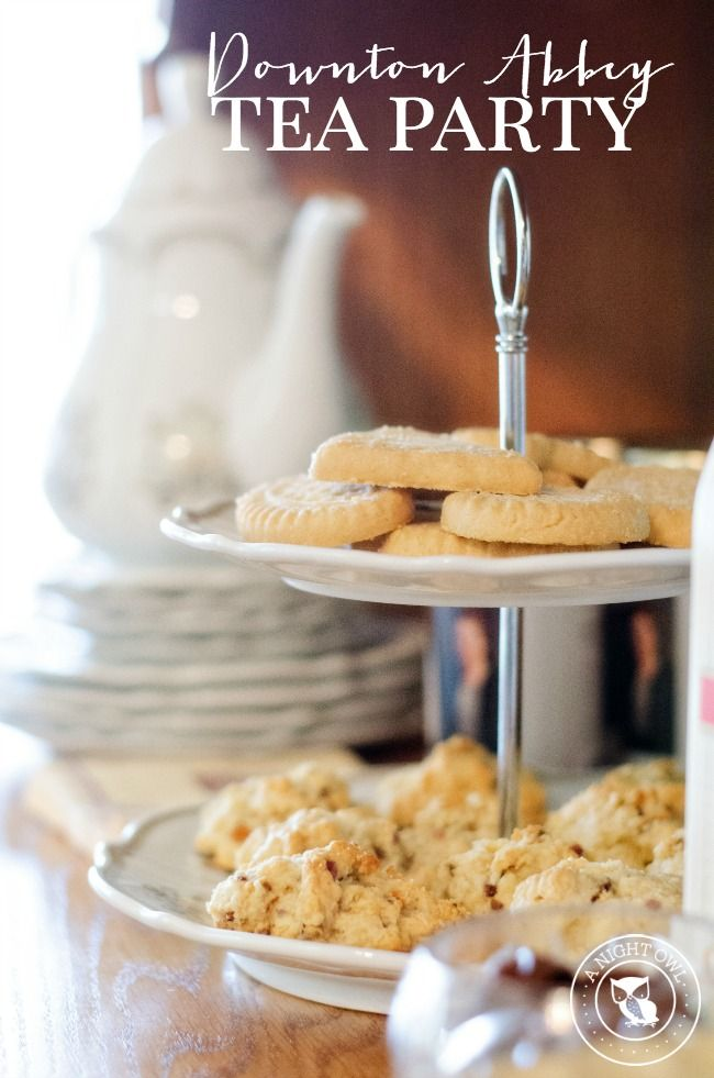 Downton Abbey Tea Party - host a premiere or viewing party fit for a queen with these easy ideas!