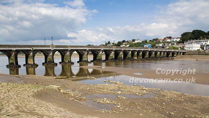 The Long Bridge  - Bideford, Devon