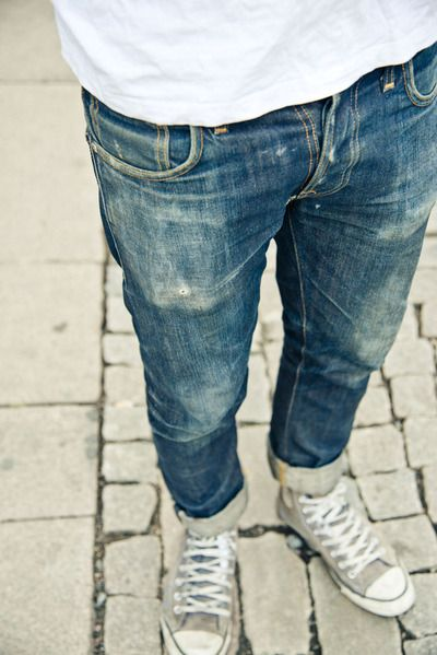 Classic Men's Jeans and Sneakers. Men's Spring/Summer Fashion.