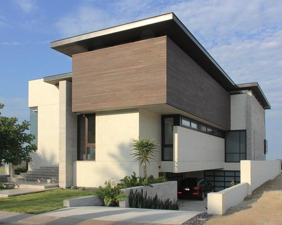Modern exterior modern stucco exterior design pictures for Redesign house exterior