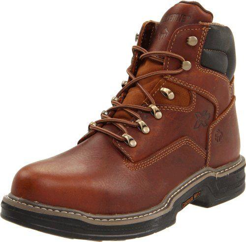 "Wolverine Men's Raider Contour Welt Steel Toe EH 6"" Boot,Brown,10 M US - http://authenticboots.com/wolverine-mens-raider-contour-welt-steel-toe-eh-6-bootbrown10-m-us/"