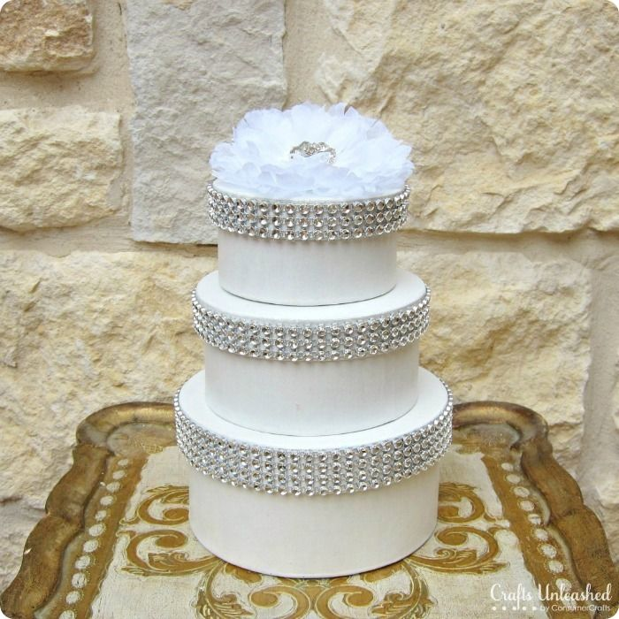 Diy Wedding Cake Bo Great For Party Favors Centerpieces Card Holder