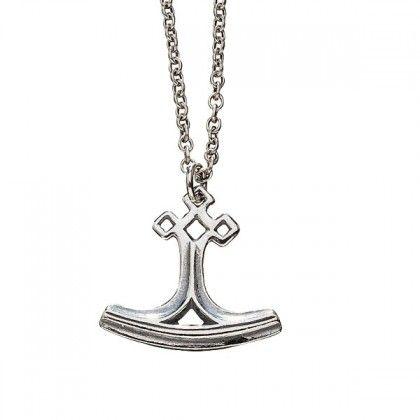 Kalevala Koru / Kalevala Jewelry / Thor's hammer pendant / Designer: Tony Granholm / Material: silver or bronze