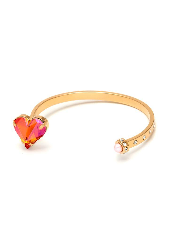 Maria Francesca Pepe Love cuff bracelet Shop now>https://www.mariafrancescapepe.com/showplarge.aspx?prodid=757&catid=47&utm_source=Social&utm_medium=Pinterest&utm_campaign=Fw14_%20cuff_love