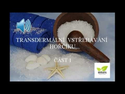 Transdermální vstřebávání hořčíku - část 1 - Mirapa.cz - Blog pro zdraví