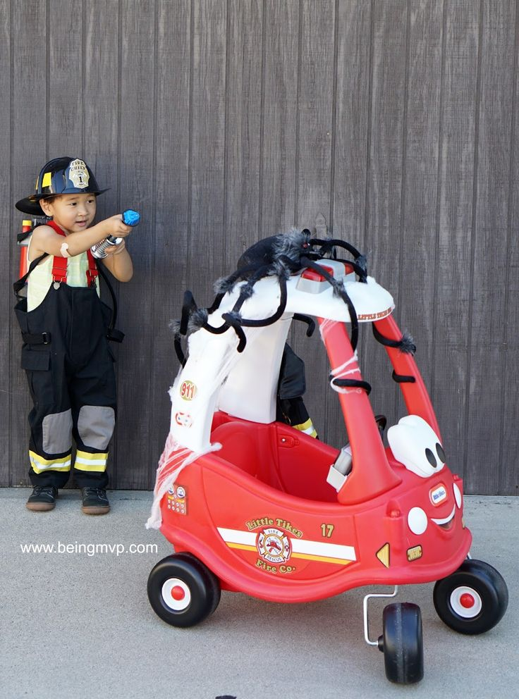 being MVP: Little Tikes Ride & Rescue Cozy Coupe is the Perfect Halloween Ride