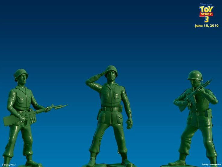 """*SARGE THE PLASTIC SOLDIER ~ """"Toy Story 3"""", 2010"""
