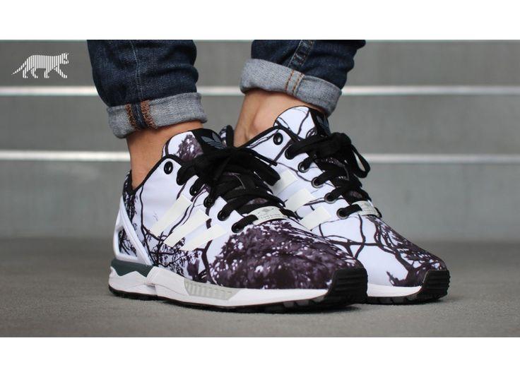 Mens Adidas Zx Flux Print