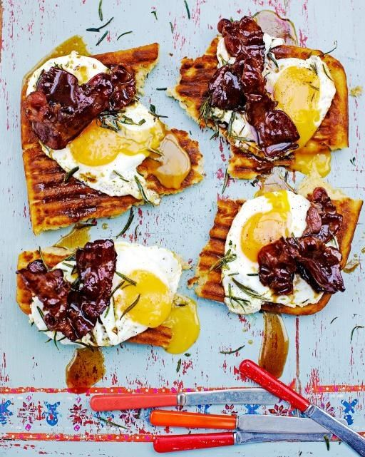 Griddle-Pan Waffles